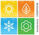 a set of colorful icons of...   Shutterstock .eps vector #1908990538