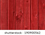 High Resolution Old Red Wooden...