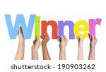 multiethnic group of hands...   Shutterstock . vector #190903262