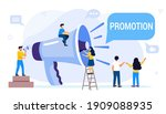professional speaker with...   Shutterstock .eps vector #1909088935