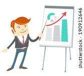 vector illustration of  office... | Shutterstock .eps vector #190912646