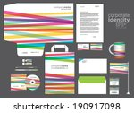 color corporate identity... | Shutterstock .eps vector #190917098