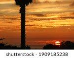 Sun Setting Over The Monterey...