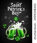 template of banner   saint... | Shutterstock .eps vector #1909248202