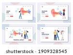 ear pain  tinnitus  otitis ... | Shutterstock .eps vector #1909328545