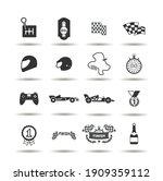 auto sport grand prix racing... | Shutterstock .eps vector #1909359112
