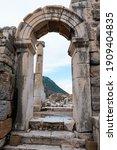 Ancient Building In Ephesus ...
