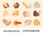 collection of abstract...   Shutterstock .eps vector #1909408498