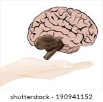 woman's hand holding object ... | Shutterstock .eps vector #190941152