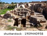 Tombs Of The Kings Near  Paphos ...