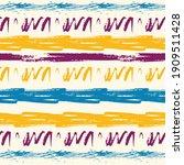stylish watercolor brush... | Shutterstock .eps vector #1909511428