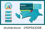 isometric azerbaijan country... | Shutterstock .eps vector #1909563208