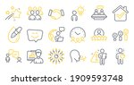 set of people icons  such as... | Shutterstock .eps vector #1909593748