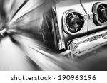 oldtimer  vintage light car ... | Shutterstock . vector #190963196