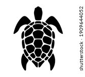 vector black silhouette of a... | Shutterstock .eps vector #1909644052