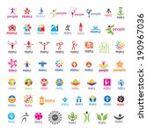 biggest collection of vector... | Shutterstock .eps vector #190967036