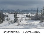 winter tatra mountains...   Shutterstock . vector #1909688002