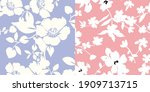 fashionable pattern in small...   Shutterstock .eps vector #1909713715
