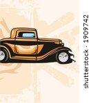 hot rod background series. | Shutterstock .eps vector #1909742