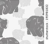 seamless pattern vector   Shutterstock .eps vector #190981832