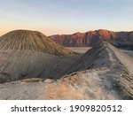 Sunrise At The Crater Of Mount...