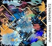 textured grunge seamless...   Shutterstock .eps vector #1909969672