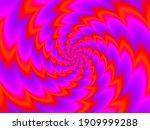 rotation red spirals. spin... | Shutterstock .eps vector #1909999288