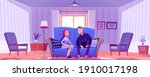 happy couple  young man and...   Shutterstock .eps vector #1910017198