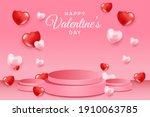 banner happy valentine's day... | Shutterstock .eps vector #1910063785
