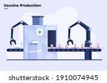 flat illustration of mass... | Shutterstock .eps vector #1910074945