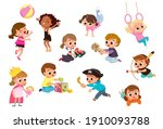 set group collection of vector... | Shutterstock .eps vector #1910093788