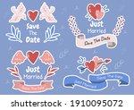 valentine illustration vector... | Shutterstock .eps vector #1910095072
