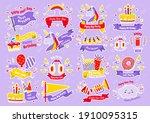 party label vector logo for... | Shutterstock .eps vector #1910095315