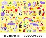 party label vector logo for... | Shutterstock .eps vector #1910095318