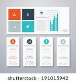 flat infographic ui vector...