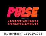 modern bold style font design ... | Shutterstock .eps vector #1910191735