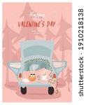 happy valentine's day. nice... | Shutterstock .eps vector #1910218138