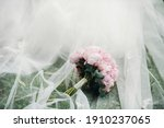 Wedding Bouquet With Peonies At ...
