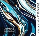 Abstract Vector Modern Fluid...