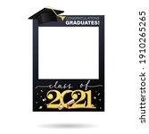 class of 2021. graduation party ...   Shutterstock .eps vector #1910265265