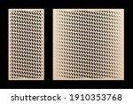 laser cut panel set. vector... | Shutterstock .eps vector #1910353768