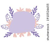 modern abstract art in gentle...   Shutterstock .eps vector #1910526655