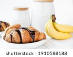 French Buttered Croissants With ...