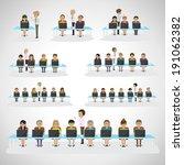 children in the classroom   ...   Shutterstock .eps vector #191062382