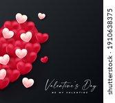 valentines day background... | Shutterstock .eps vector #1910638375