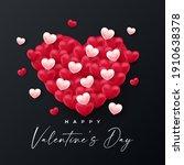 valentines day background... | Shutterstock .eps vector #1910638378
