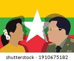 bangkok thailand february 6  ... | Shutterstock .eps vector #1910675182