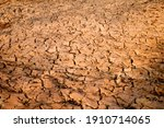 cracking of the ground after...   Shutterstock . vector #1910714065