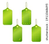 set of spring sale tags in... | Shutterstock .eps vector #1911068695