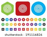 weather icon   button | Shutterstock . vector #191116826
